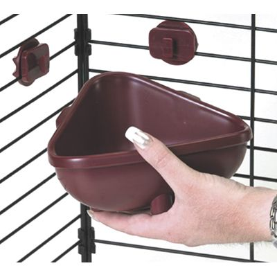 Super Pet Hang-n-Lock Corner Crock