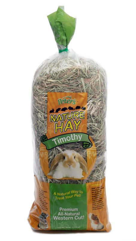 Peters Timothy Hay for Rabbits 40oz