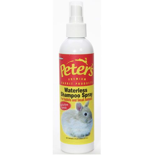 Waterless Rabbit Shampoo Spray 8oz