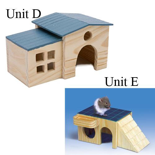 Cozy Co-Up Small Animal Hideaway Unit D