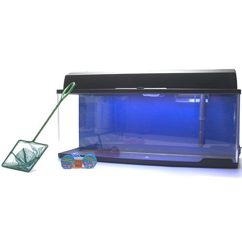 Aquatic Edge Bookshelf Aquarium Tank Kit 6.6 Gal