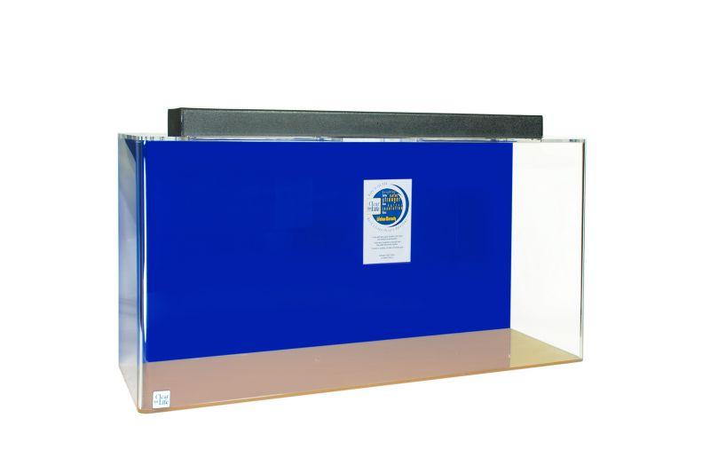 Acrylic Rectangle Aquarium 30 Gallon Blue