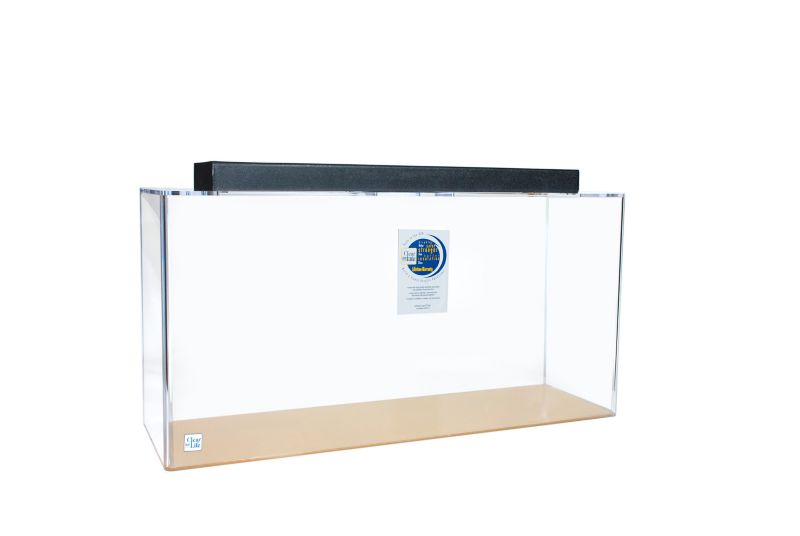 Acrylic Rectangle Aquarium 40 Gallon Blue