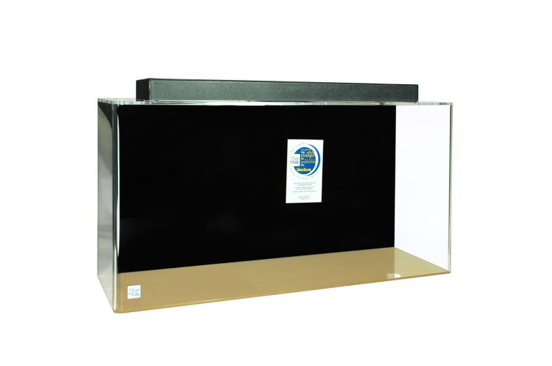Acrylic Rectangle Aquarium 125 Gallon Black