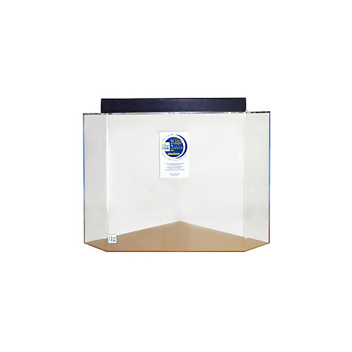 Clear for life acrylic pentagon aquarium 50 gallon ebay for Pentagon fish tank