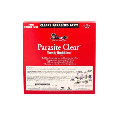 Jungle Aquarium Parasite Clear 100 Ct