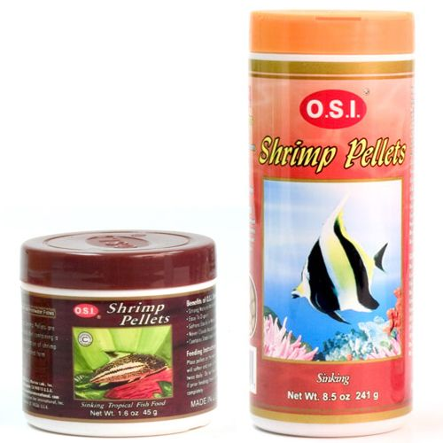 OSI Shrimp Pellets                      ts 7.5oz