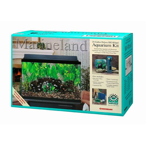 Marineland Deluxe Aquarium Kit 29 Gallon