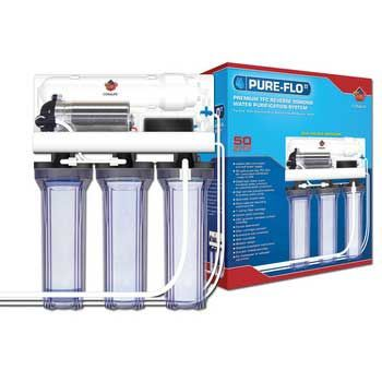 Coralife Pure Flo RO Unit with Water Pump 50GPD