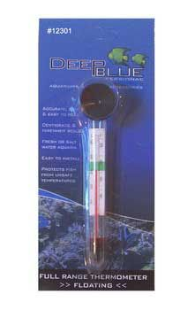 Deep Blue Floating Aquarium Thermometer