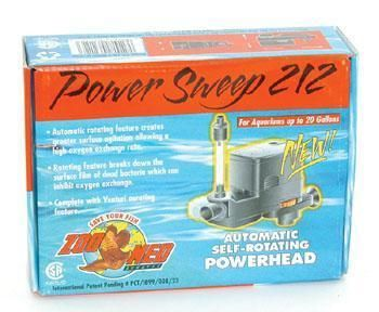 Zoo Med Power Sweep Power Head 212