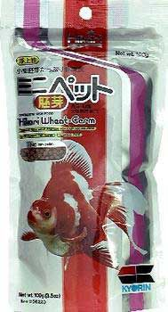 Hikari Wheat Germ Mini Pellet Pond Fish Food 3.5oz