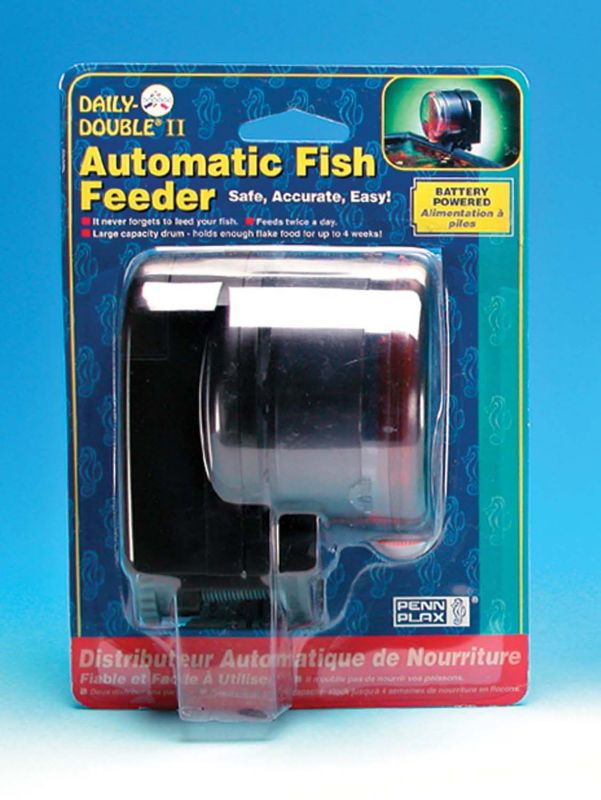 Daily Double II Automatic Fish Feeder