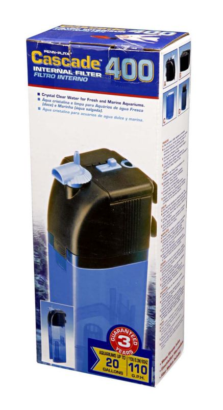 Cascade Internal Aquarium Filter 400
