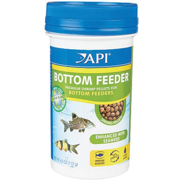 API Bottom Feeder Shrimp Pellets 7.9 oz