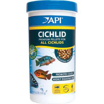 API Cichlid Medium Pellet Food 2.5 oz