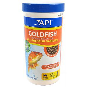 API Goldfish Pellet Food 4 oz