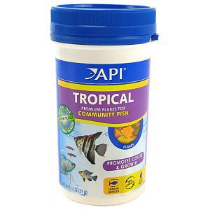 API Tropical Fish Flake Food 5.7 oz