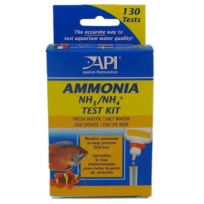 API Freshwater and Saltwater Ammonia Test Kit
