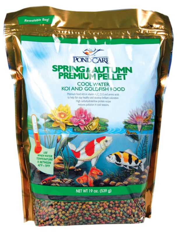 PondCare Spring and Pellet Pond Food 20 oz