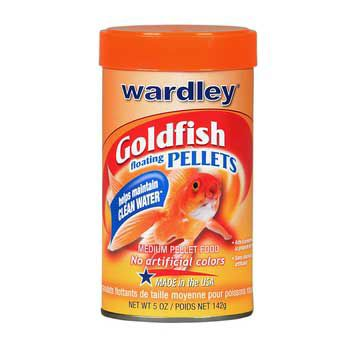 Wardley Goldfish Medium Pellets 5oz