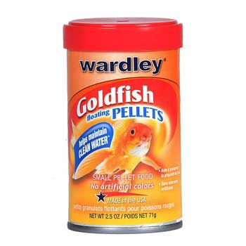 Wardley Goldfish Small Pellets