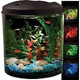 TOM Aquaview Half Cylinder LED Aquarium Kit