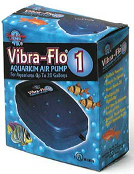 Blue Ribbon Vibra Flo Air Pump 1 Single