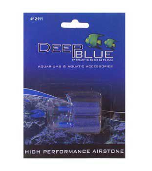 Deep Blue Cylinder Air Stone 2pk