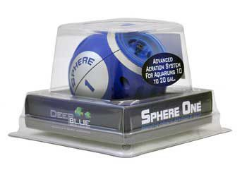Deep Blue Sphere Air Pump Three
