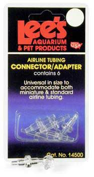 Lees Airline Connectors 6pk