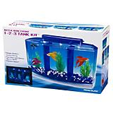 Penn Plax Betta Bow Front 1-2-3 Tank Kit