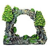 Blue Ribbon Cobblestone Archway Ornament
