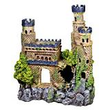 Blue Ribbon Mini Medieval Castle Ornament
