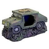 Blue Ribbon Sunken Humvee with Cave Ornament