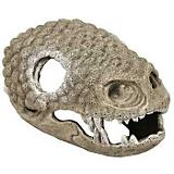 Blue Ribbon Gila Monster Skull Ornament