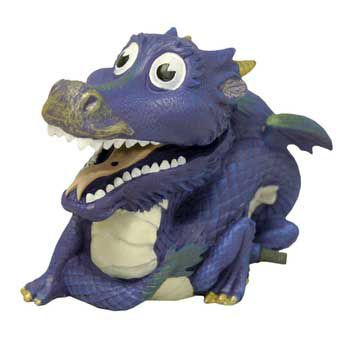 Blue Ribbon Action Dragon Bubbler Ornament