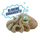 Zanusa Blinking Octopus Tank Ornament