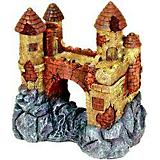 Blue Ribbon Jumbo Castle with Bridge Ornament
