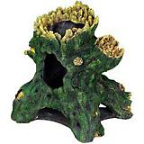 Blue Ribbon Jumbo Hollow Tree Stump Ornament
