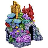 Blue Ribbon Red Sea Coral Hideaway Ornament Small