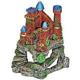 Blue Ribbon Castle Fortress Cavern Ornament