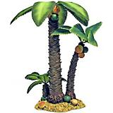 Blue Ribbon Palm Tree  Island Ornament