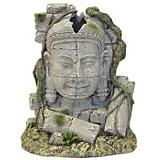Blue Ribbon Ancient Stone Head Ruin Ornament