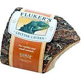 Flukers Corner Half Log Reptile Decoration
