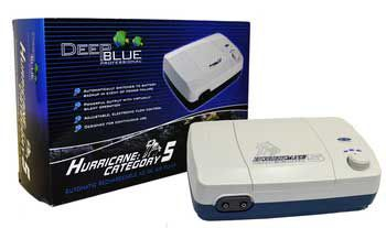 Deep Blue Hurricane Cat 5 Rechargeable Air Pump