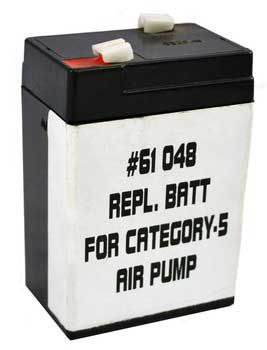 Deep Blue Cat 5 Rechargeable Air Pump Repl Battery