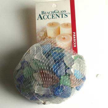 Aquarium Beach Glass Accents Grn/Blu