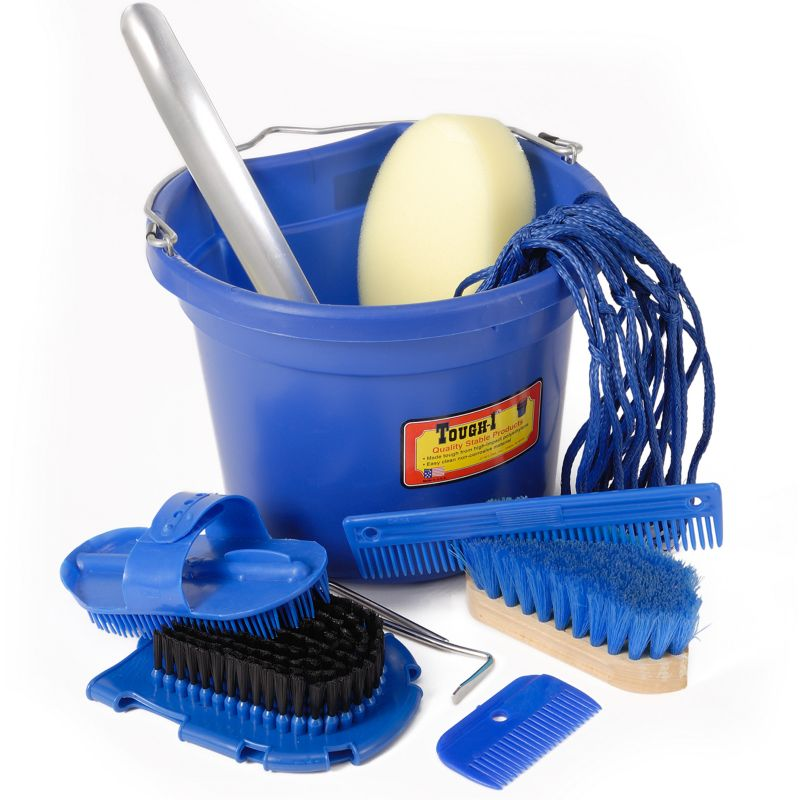 10 Piece Grooming Set Royal Blue