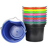 Flat Back Bucket 18 Quart